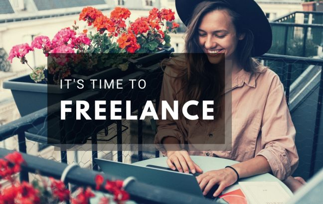 It's time to Freelance